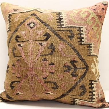 L418 Turkish Kilim Cushion Cover