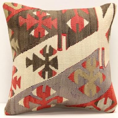 S304 Turkish Kilim Cushion Cover