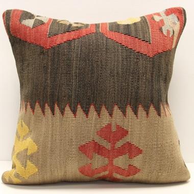 M1203 Turkish Kilim Cushion Cover