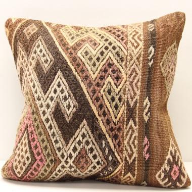 M1286 Turkish Kilim Cushion Cover