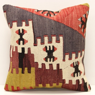 M1293 Turkish Kilim Cushion Cover