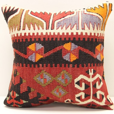 M1365 Turkish Kilim Cushion Cover