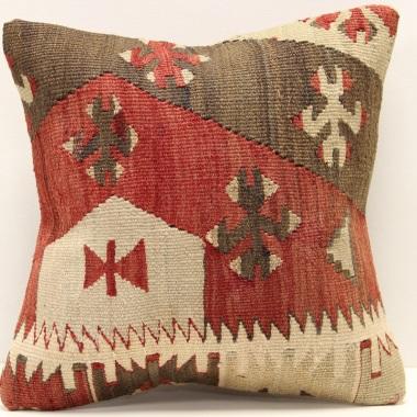 S336 Turkish Kilim Cushion Cover