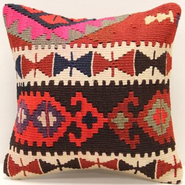 S370 Turkish Kilim Cushion Cover