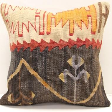 M1504 Turkish Kilim Cushion Cover