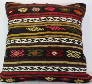 XL391 Turkish Kilim Cushion Cover