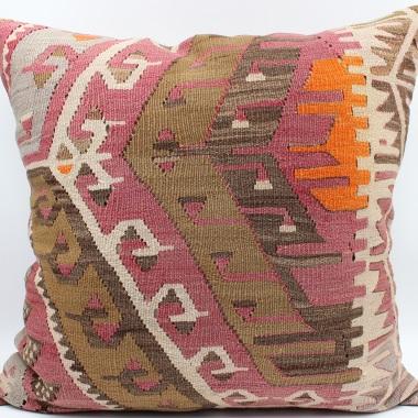 XL412 Turkish Kilim Cushion Cover