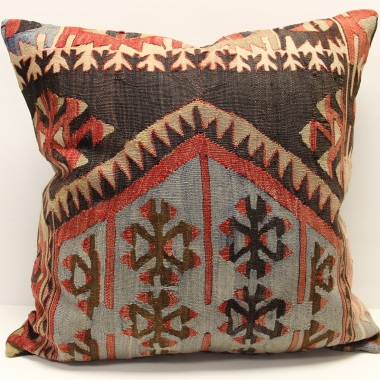 XL470 Turkish Kilim Cushion Cover