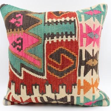 L669 Turkish Kilim Cushion Cover