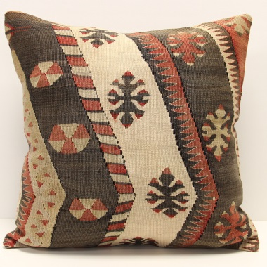 L699 Turkish Kilim Cushion Cover