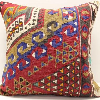 L701 Turkish Kilim Cushion Cover