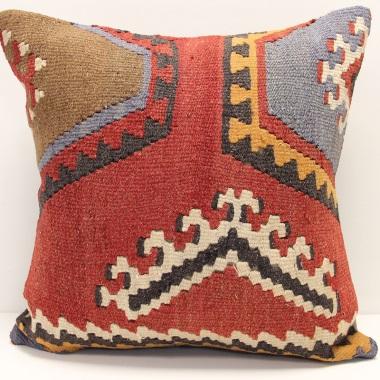 L704 Turkish Kilim Cushion Cover