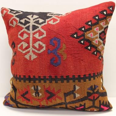 L710 Turkish Kilim Cushion Cover
