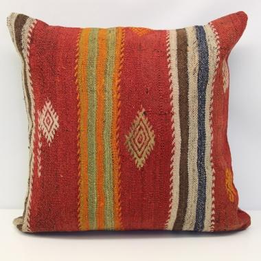 Turkish Kilim Cushion Cover L577