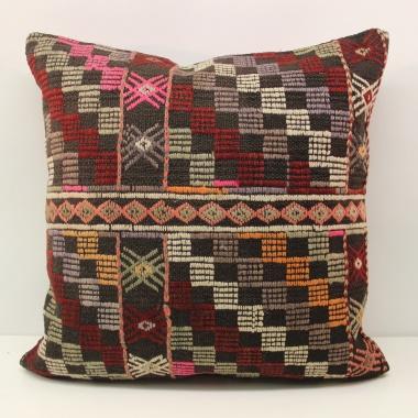Turkish Kilim Cushion Cover L589