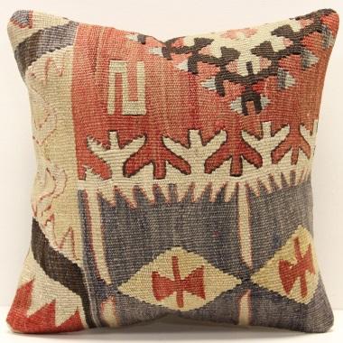 S451 Turkish Kilim Cushion Cover London