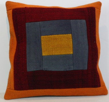 Turkish Kilim Cushion Cover M1309