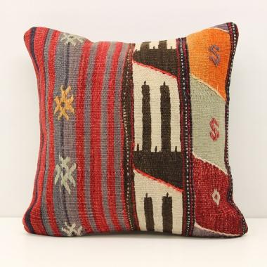 Turkish Kilim Cushion Cover M1483
