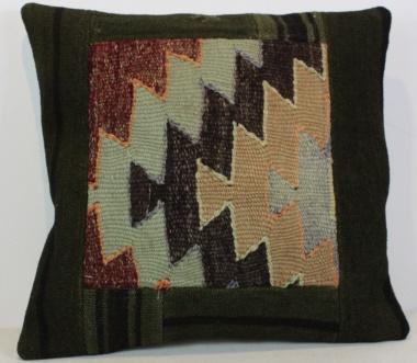 Turkish Kilim Cushion Cover M1509