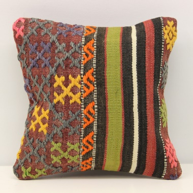 Turkish Kilim Cushion Cover S245