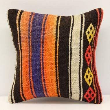 Turkish Kilim Cushion Cover S278