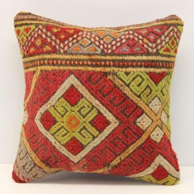 Turkish Kilim Cushion Cover S289