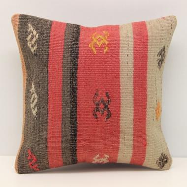 Turkish Kilim Cushion Cover S469