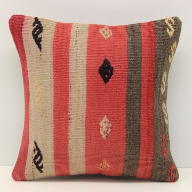 Turkish Kilim Cushion Cover S471