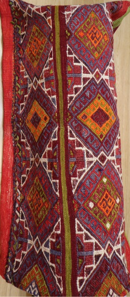 R5605 Turkish Kilim Floor Cushion Cover