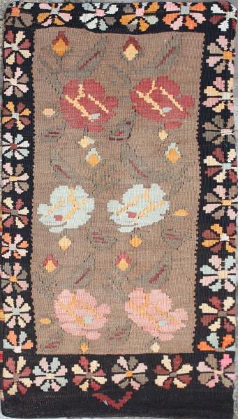 R5617 Turkish Kilim Floor Cushion Cover