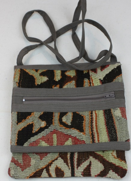Turkish Kilim Handbag H117
