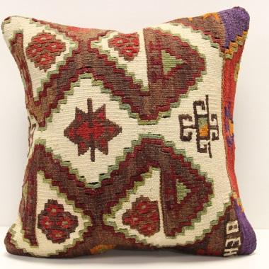 M286 Turkish Kilim Pillow Cover