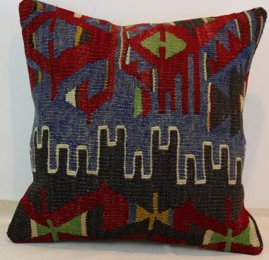 M322 Turkish Kilim Pillow Cover