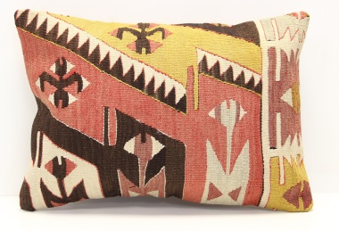 D2 Turkish Kilim Pillow Cover
