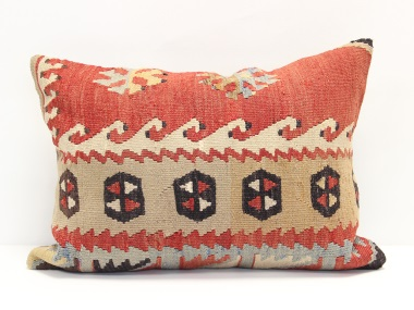 D9 Turkish Kilim Pillow Cover