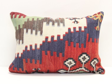 D159 Turkish Kilim Pillow Cover