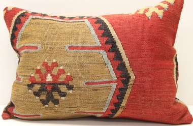 D161 Turkish Kilim Pillow Cover