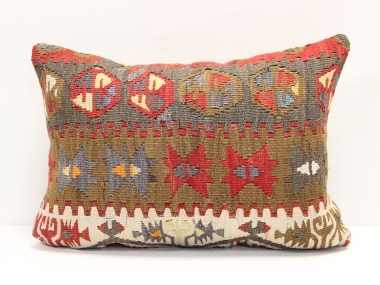 D162 Turkish Kilim Pillow Cover