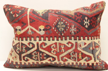 D165 Turkish Kilim Pillow Cover