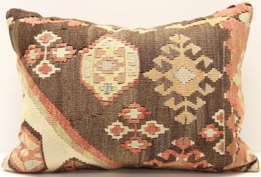 D166 Turkish Kilim Pillow Cover