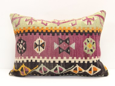 D210 Turkish Kilim Pillow Cover