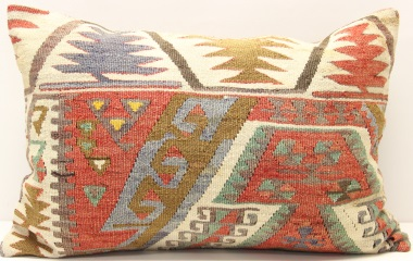 D303 Turkish Kilim Pillow Cover