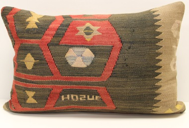 D304 Turkish Kilim Pillow Cover
