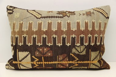 D310 Turkish Kilim Pillow Cover