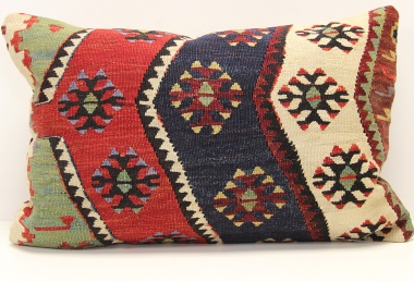 D312 Turkish Kilim Pillow Cover