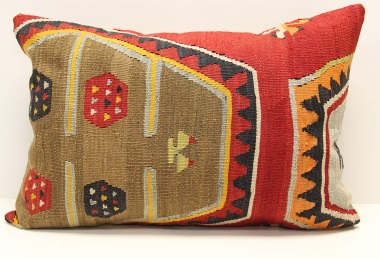 D314 Turkish Kilim Pillow Cover