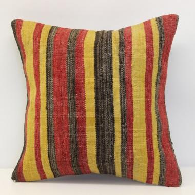 Turkish Kilim Pillow Cover London M1366