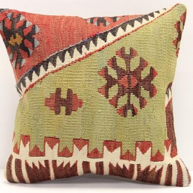 S342 Turkish Kilim Pillow Covers