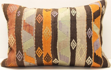D415 Turkish Kilim Pillow Covers