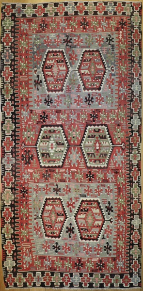 R4970 Turkish Kilim Rug